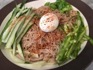 Fresh Soba Noodle Salad