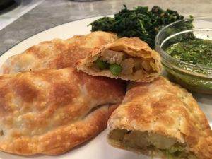 Potato & English Pea Samosas