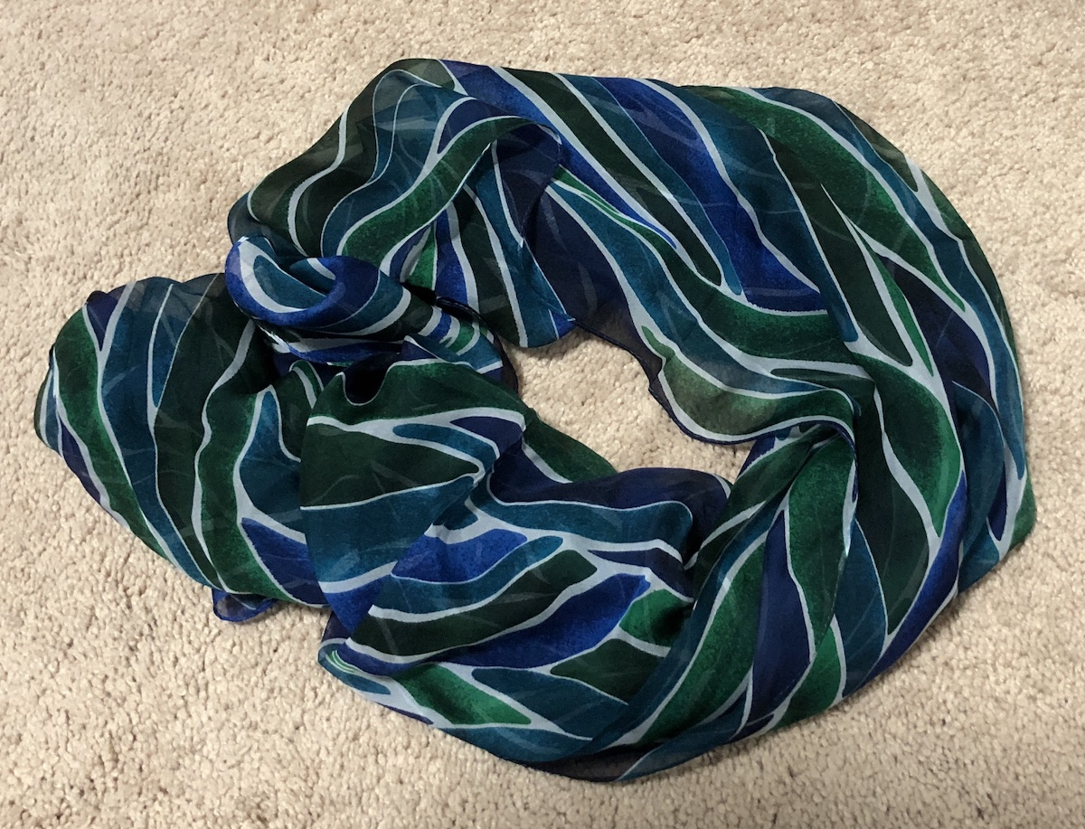 74b63a41186cce I got this brand new Ann Klein scarf for $5.99 on thredUP vs. estimated  retail of $44.
