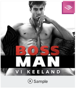 """a shirtless man with a tie with the title """"Boss Man"""""""